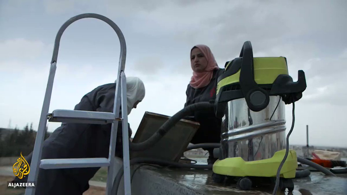Women in Jordan are becoming plumbers to fight water scarcity.