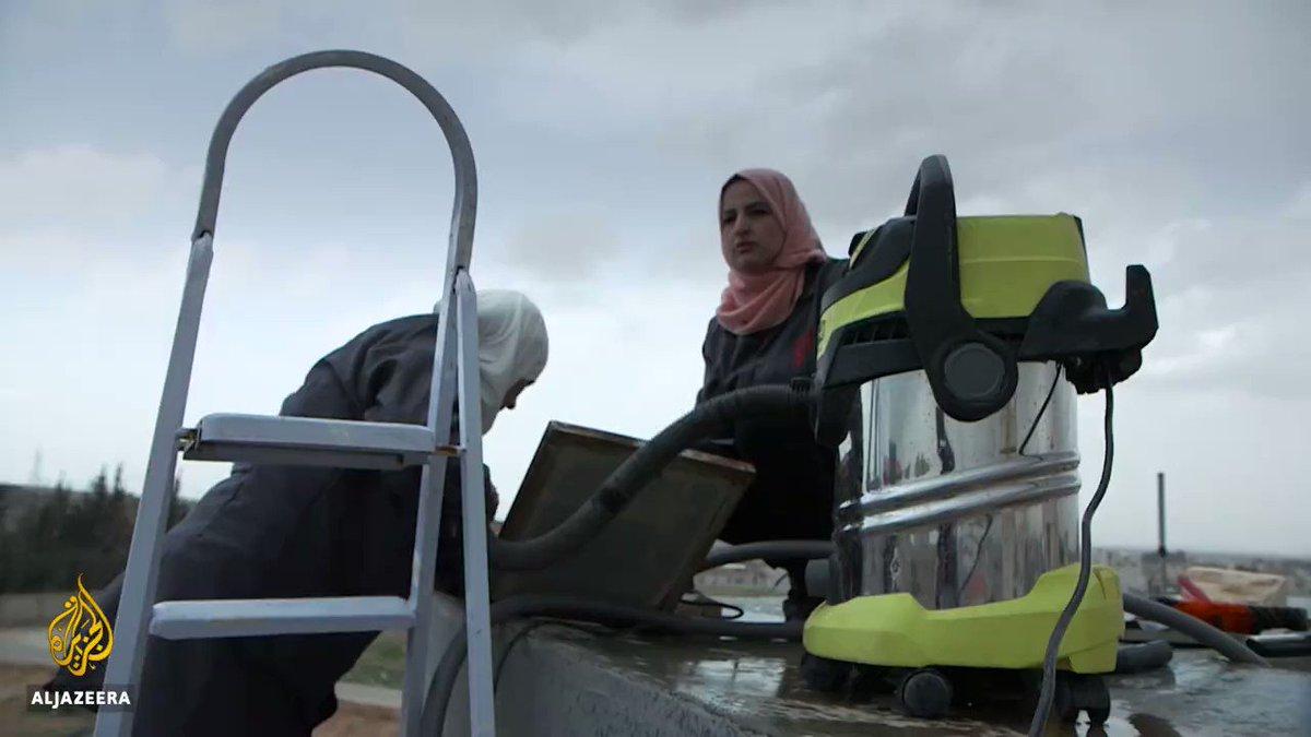 A group of women plumbers are tackling water shortage in Jordan. https://t.co/ipdODayxOt