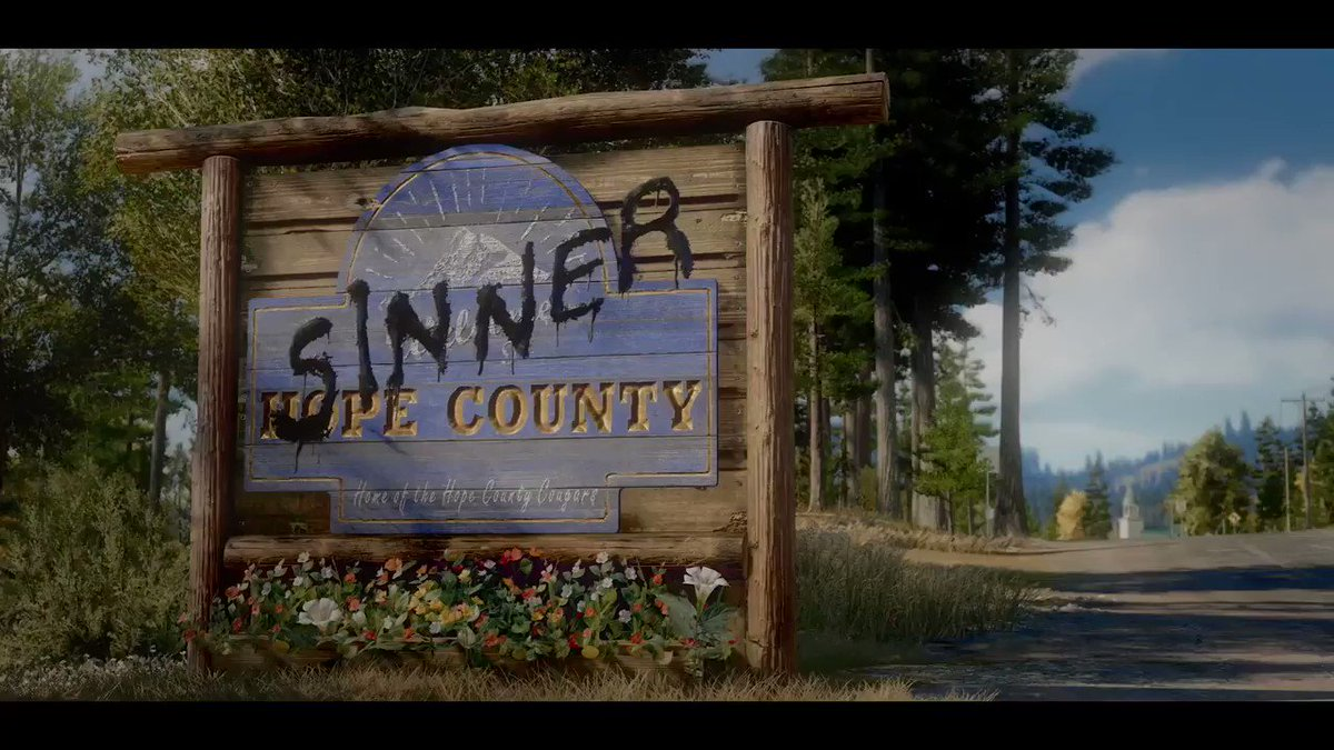 Here's every little detail you missed in that #FarCry5 announcement trailer!