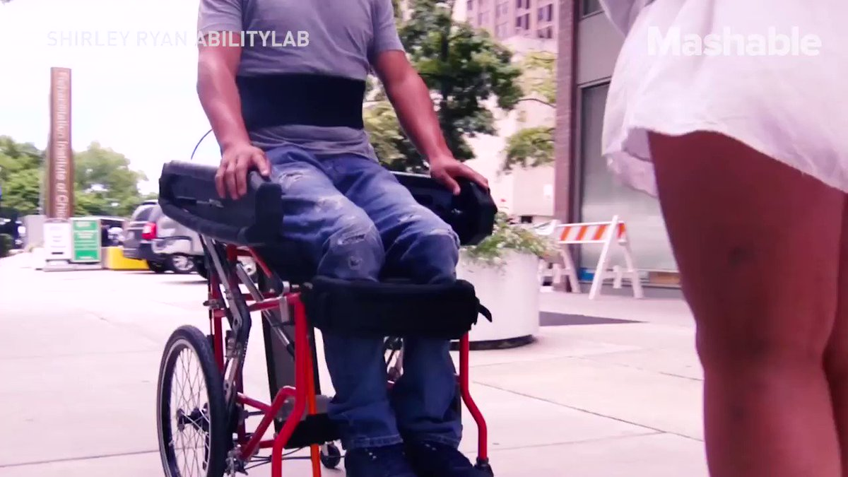 Wheelchair users have the ability to stand upright with this new model. https://t.co/0Fy1bHnIvb