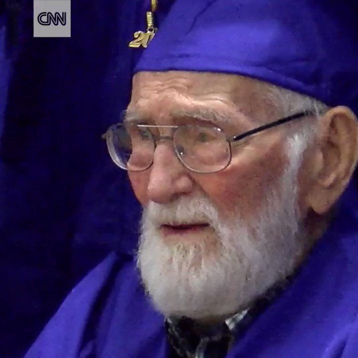 This 101-year-old WWII vet finally got the high school graduation he never had