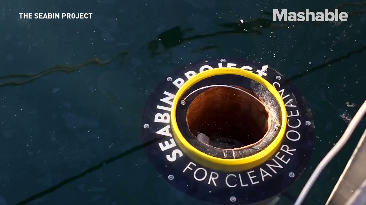 This device is like a vacuum for the ocean 🌊 https://t.co/tQiERh8x1z