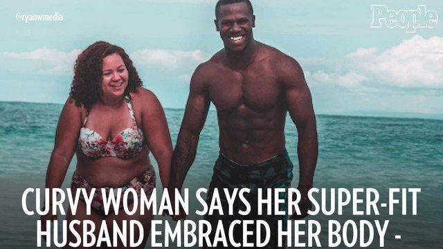 "Jazzy's super-fit husband helped her realize that she already has the ""perfect body"" ??"