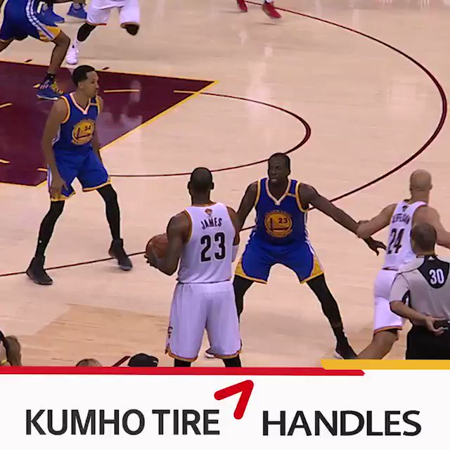 OH MY! Kyrie. Steph. Lebron. The top 5 #NBAFinals handles that made you go ��   �� @KumhoTireUSA https://t.co/uZNTA3cgGr