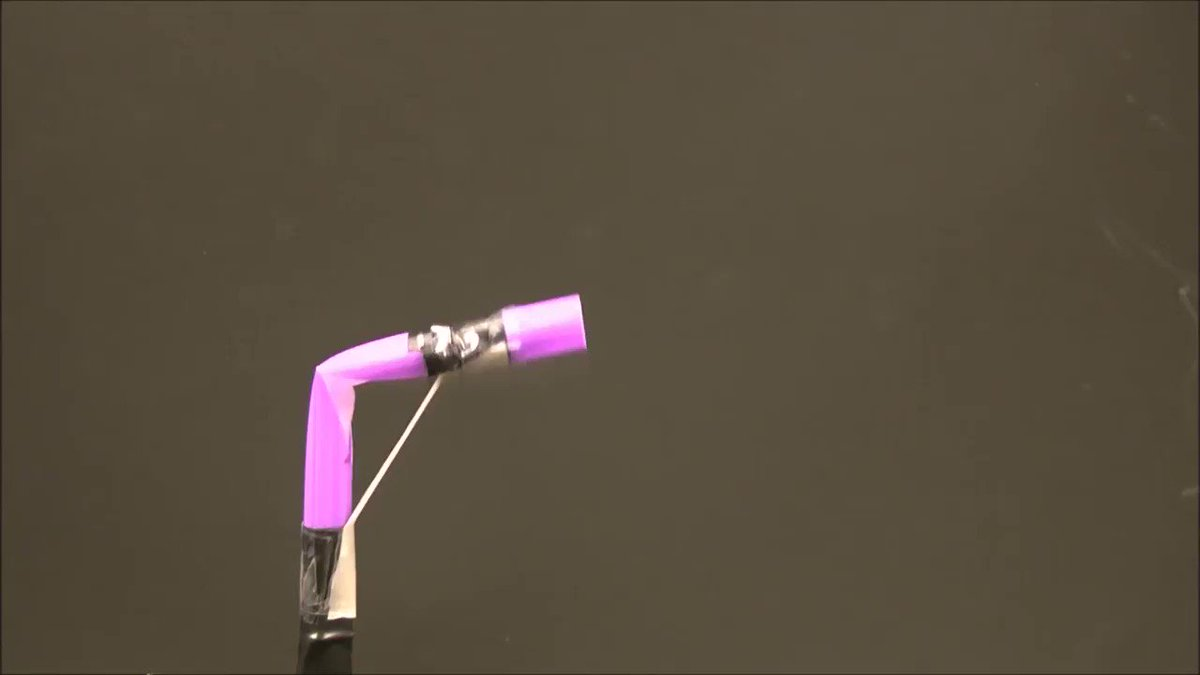 """RT @Harvard: Scientists create biologically inspired """"soft robots"""" with some help from plastic drinking straws. https://t.co/geMs5HzhHS"""