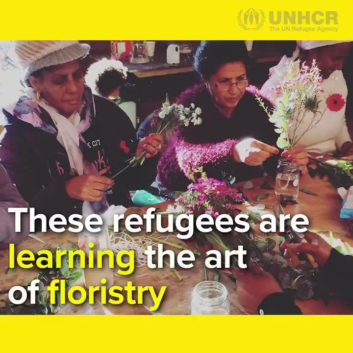 Helping refugee women blossom ���� Order your bouquet for World Refugee Day: https://t.co/tpoDIRCgNi https://t.co/ceRzkpStvu