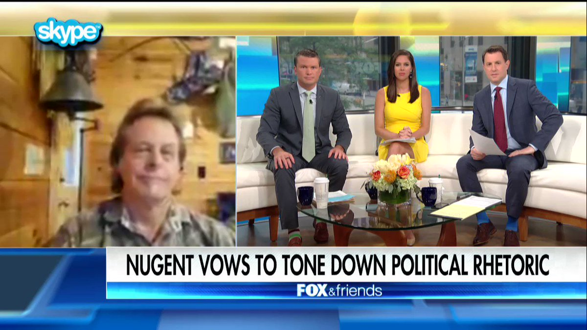 .@TedNugent: 'The violence from the other side is unprecedented.' https://t.co/2U3uhWf8uQ