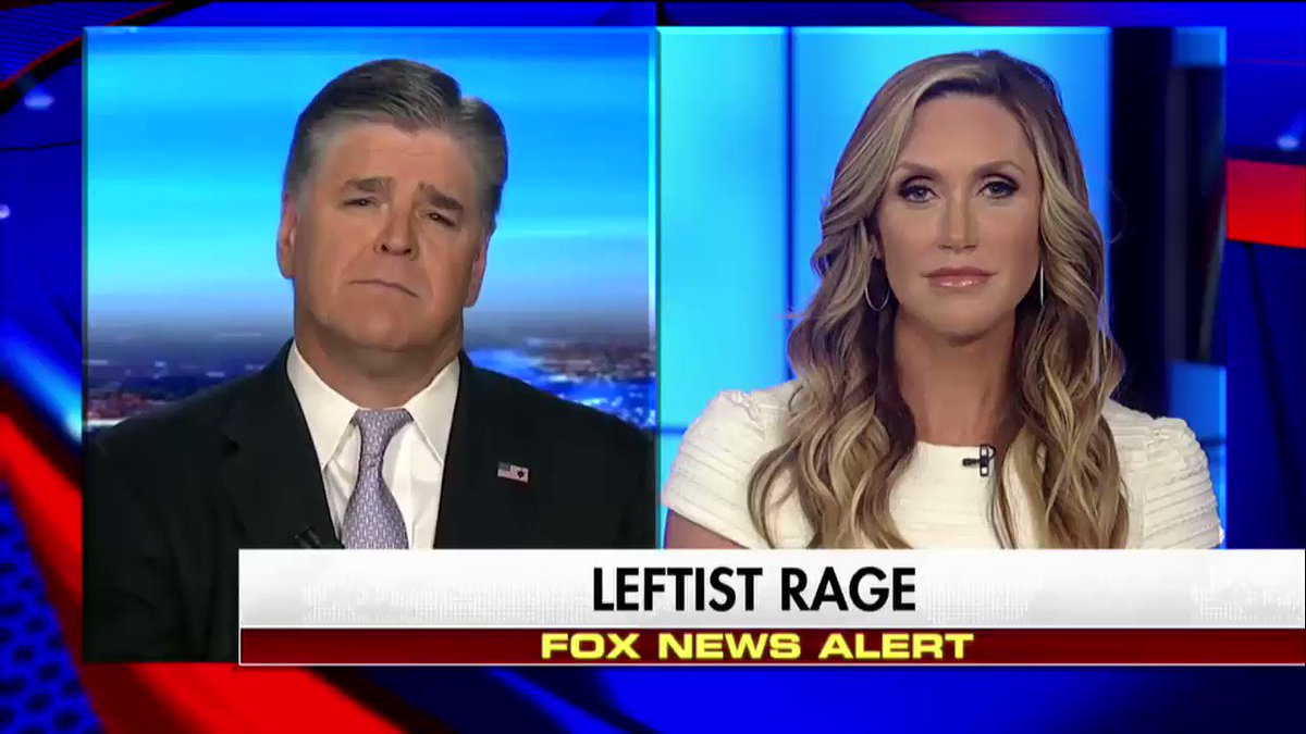 """.@LaraLeaTrump on anti-@POTUS sentiment """"This has never happened in this capacity to any other president."""" #Hannity"""