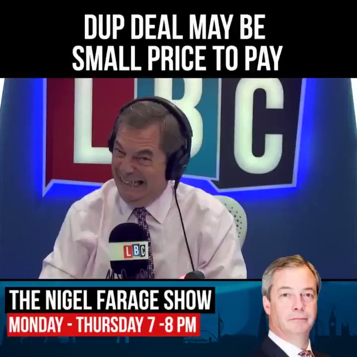 The DUP deal may be a small price to pay if it means we get on with the Brexit process. https://t.co/xoTFDqPlWu