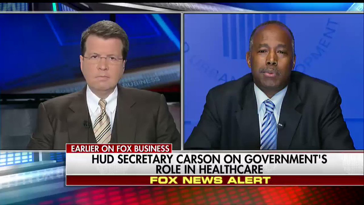 .@SecretaryCarson: I would invite Democrats to help tweak GOP healthcare bill.
