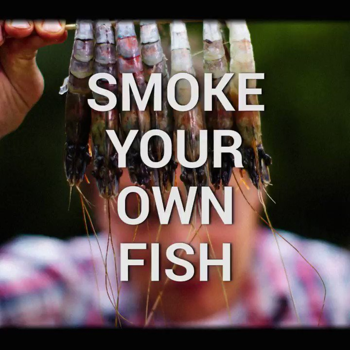 Finally a use for that old bucket! Turn it into a smoker and smoke your own fish! ???? https://t.co/BJekSUzaiU