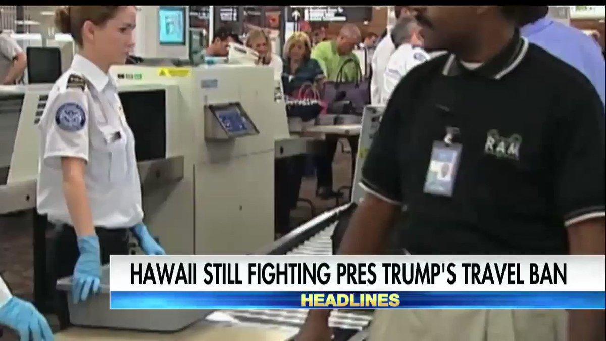 Hawaii still fighting @POTUS's travel ban.