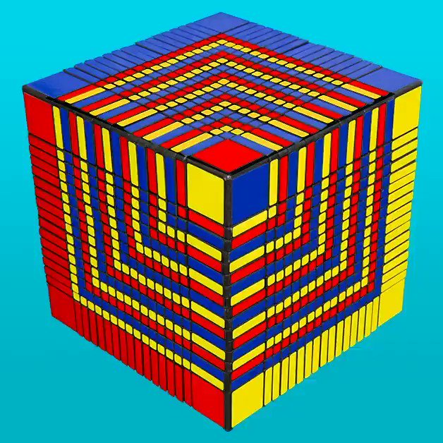 The inventor of the was born on this day. Happy birthday Ern Rubik from
