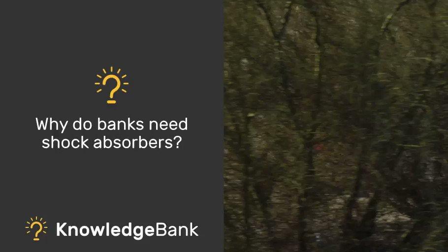 Find out how banks use shock absorbers to stay safe: https://t.co/ynfgeI9nxU #BoEKnowledgeBank https://t.co/TG1rY7j2P2