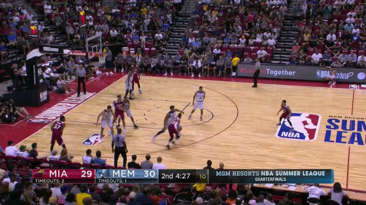 The @MiamiHeat ball movement is �� at #NBASummer!  ��: ESPN 2 https://t.co/e7zvJ4iAj0