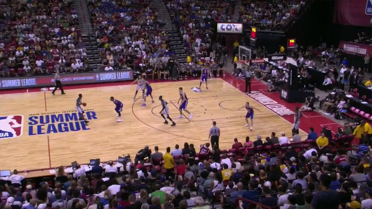 We're back on ESPNU!  Rondae Hollis-Jefferson gets the 2nd half underway for the @BrooklynNets. #NBASummer https://t.co/hgqsGGOV88
