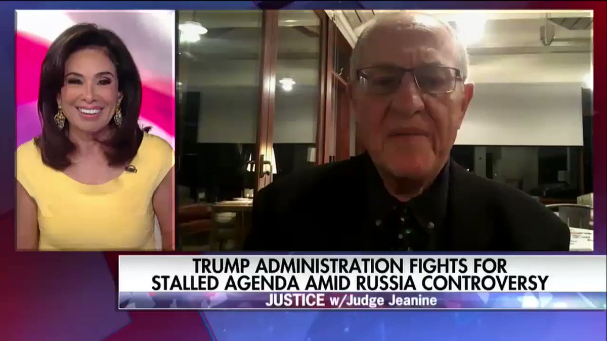 .@AlanDersh: 'A candidate has the right to get information from whatever source the information comes.' https://t.co/Yl4PoackVV