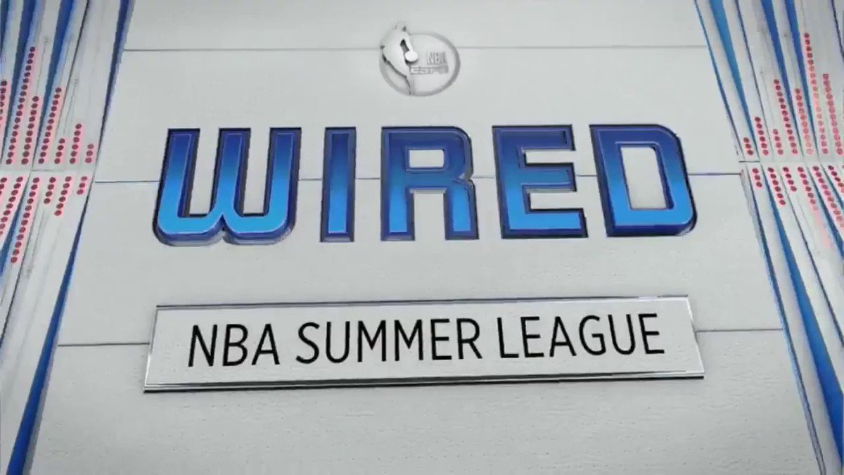 The coaches are wired in the Summer League Semifinal! https://t.co/hhy4OQM1jI