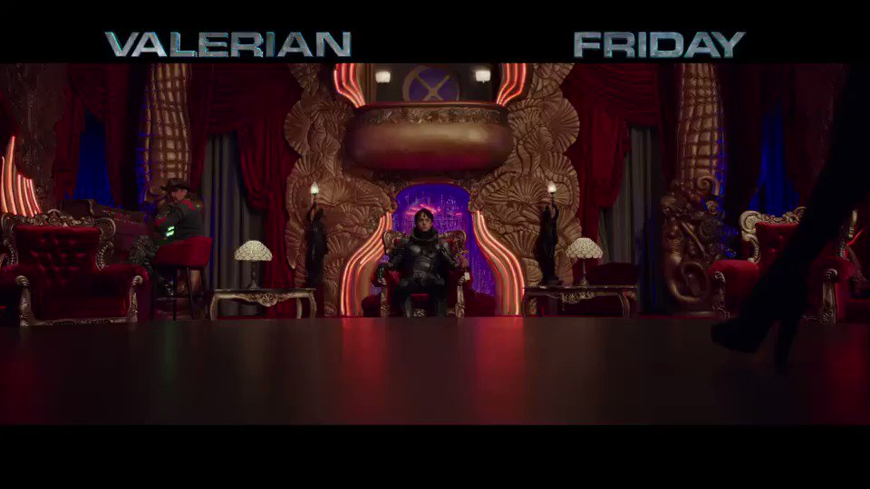 Hollywood #Valerian premiere tonight! @LucBesson's masterpiece out Friday. #MeetBubble https://t.co/O8mKeqqwCn