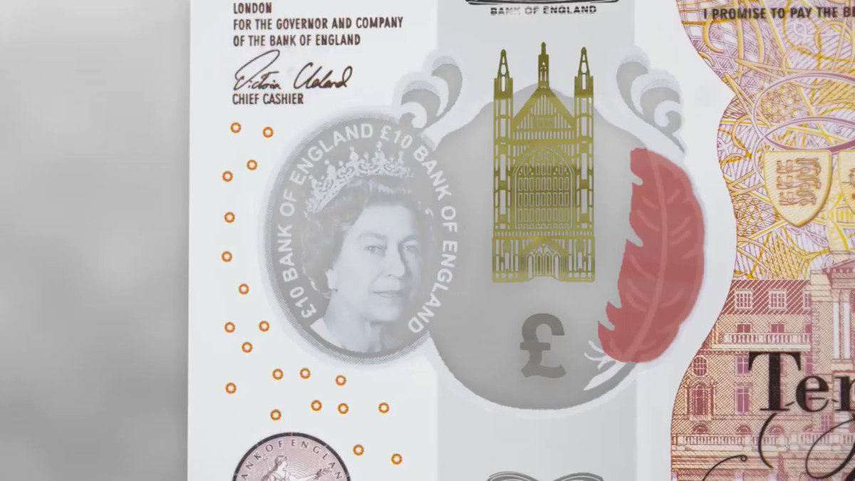 The #NewTenPoundNote includes an image of @WinCathedral, where Jane Austen, the face of the banknote, is buried. https://t.co/xCuY6Mt7qN