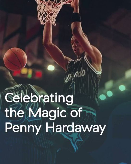 Penny Hardaway is one of the greatest NBA players without a ring. Happy birthday to the legend.