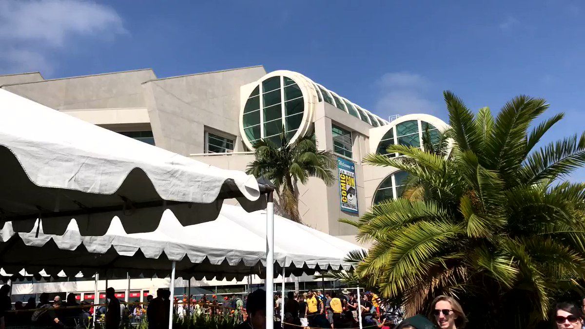 SDCC2017: This is just ONE section of people camping out for Hall H