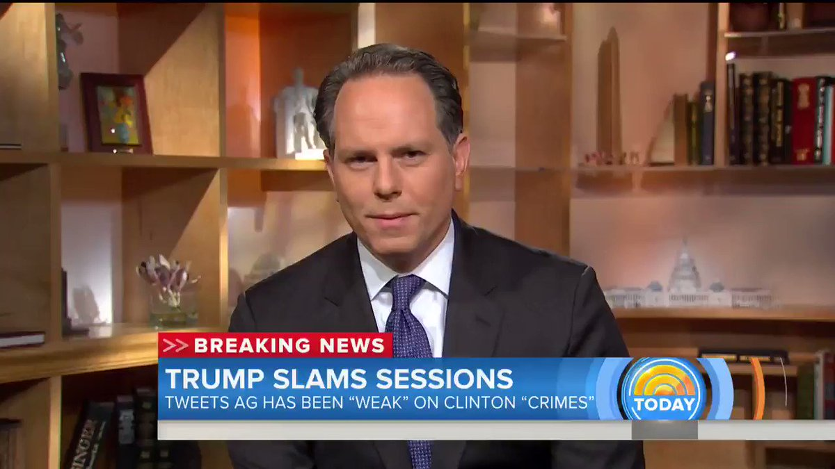 """WATCH """"The President of the United States is online bullying the attorney general."""" -Jeremy Bash"""