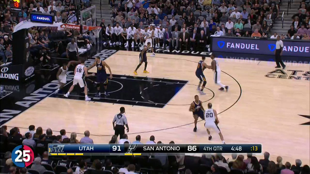 The TOP 25 @Spurs PLAYS from the 2016-17 season! #BESTofNBA