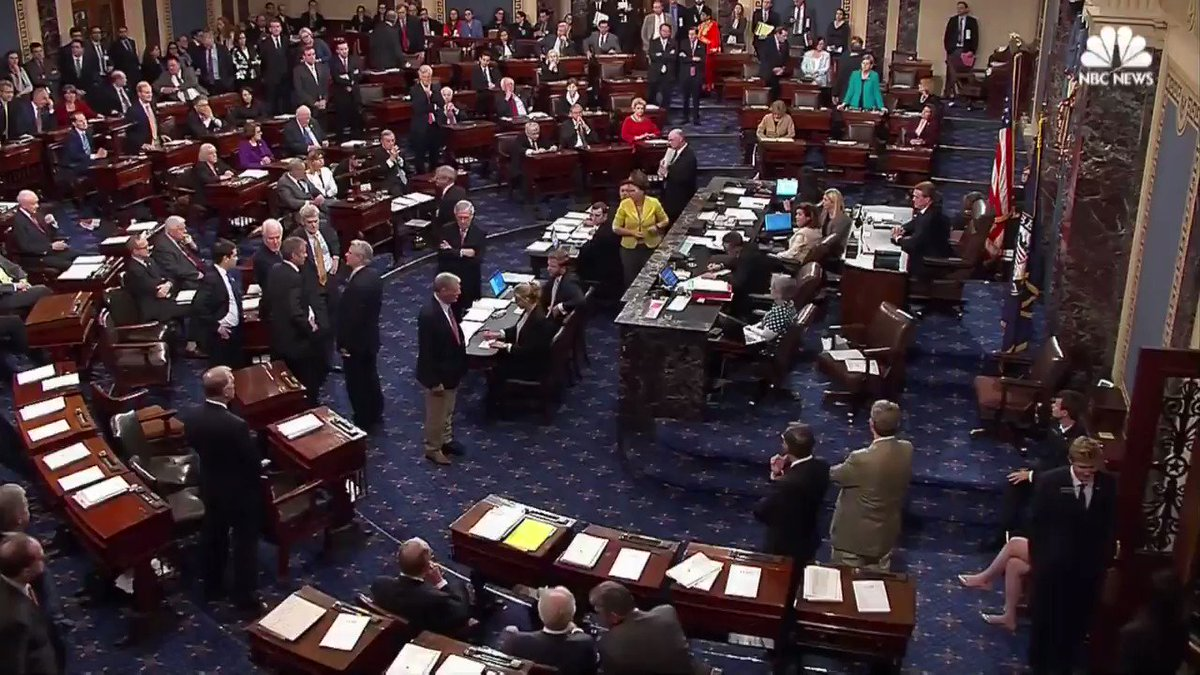 """Watch as Sen. John McCain casts """"no"""" in vote on #SkinnyRepeal of Obamacare"""