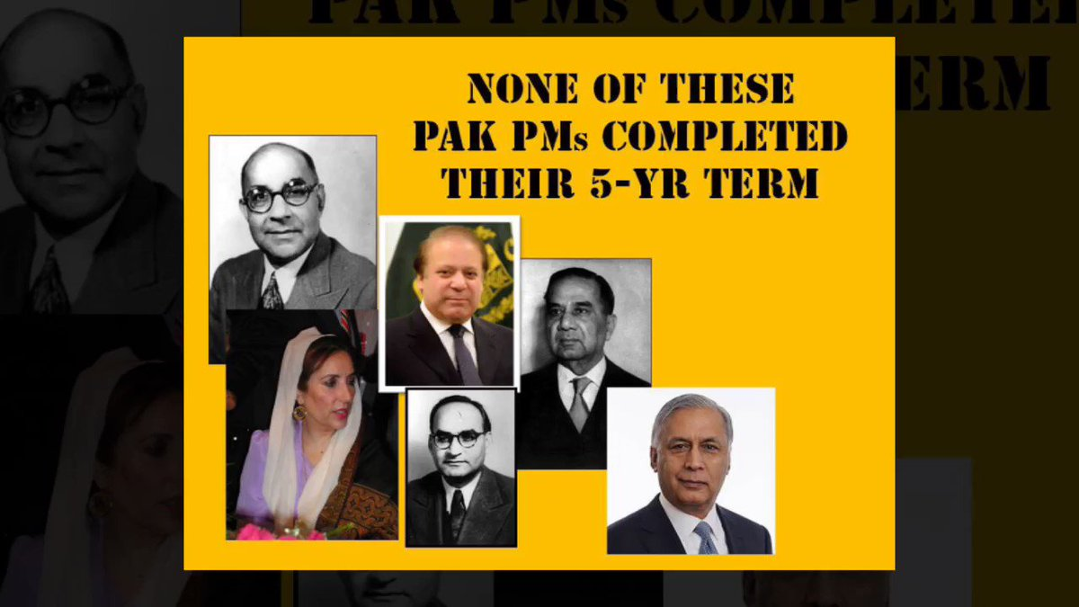 #ITSpecial Believe it or not? None of the Pakistan Prime Ministers ever completed their 5-year term