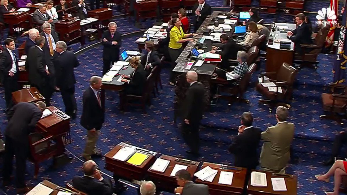 """WATCH The moment Sen. John McCain voted no on """"skinny"""" Obamacare repeal"""