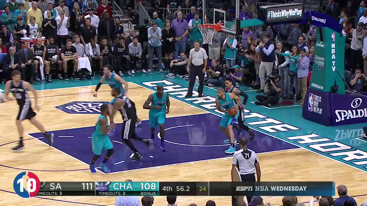 For Buzz City... @KembaWalker's TOP 10 PLAYS from the 2016-17 season for the @Hornets! #BESTofNBA https://t.co/L7dT9UJHpB