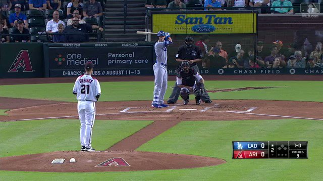 What'd that ball ever do to you, @Cody_Bellinger? �� #Crushed https://t.co/Y97ckHGG7U