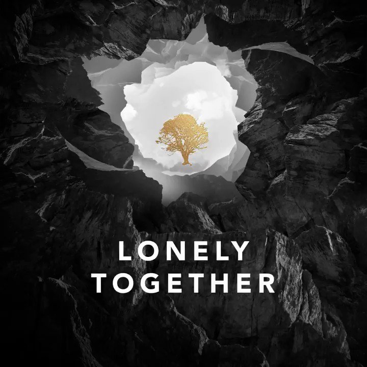 #LonelyTogether is hereeeee!! Hope you guys love it ???? Thank you @avicii ❤️❤️❤️ https://t.co/XWZtvRtnJF https://t.co/Gr8Tv6bINM