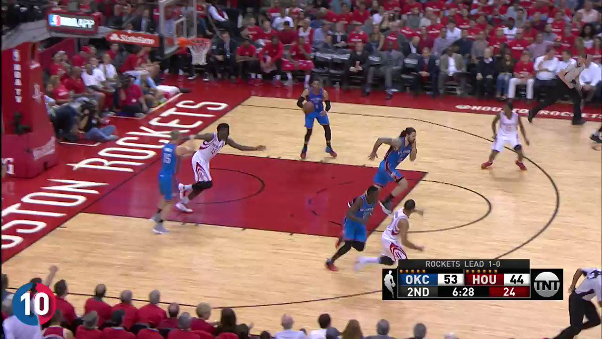The MVP... @russwest44's TOP 10 PLAYS from the 2016-17 season for the @OKCThunder! #BESTofNBA https://t.co/QNMXahPifc
