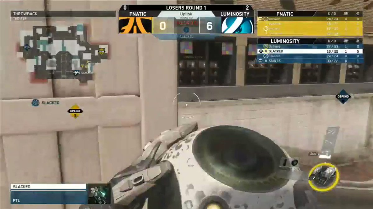 This self-pass from @Slacked still has our mouths on the floor.   Watch #CWLChamps at https://t.co/yg6J8jhg1M https://t.co/B6580xI38M