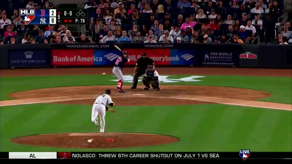 .@asben16 makes it 3-0 @RedSox. #MLBNShowcase https://t.co/dTE22eJ8l8
