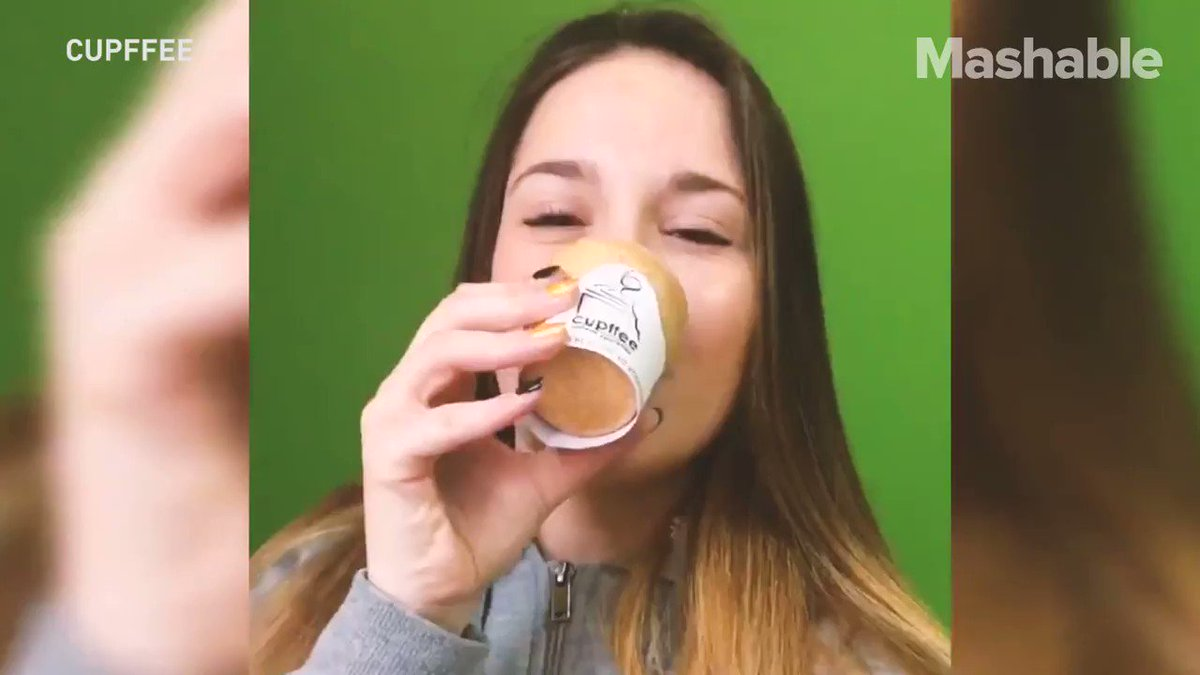 A company created a coffee cup you can eat as a solution to our problem with plastic https://t.co/gZnqqTrctP