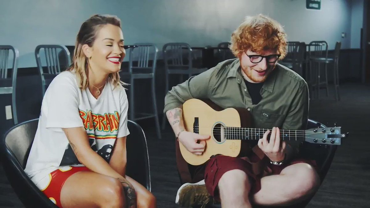 RT @YouTube: .@RitaOra sits down with #EdSheeran for an acoustic performance of #YourSong https://t.co/L8EZYkMtp1 https://t.co/tve0xFZi9r