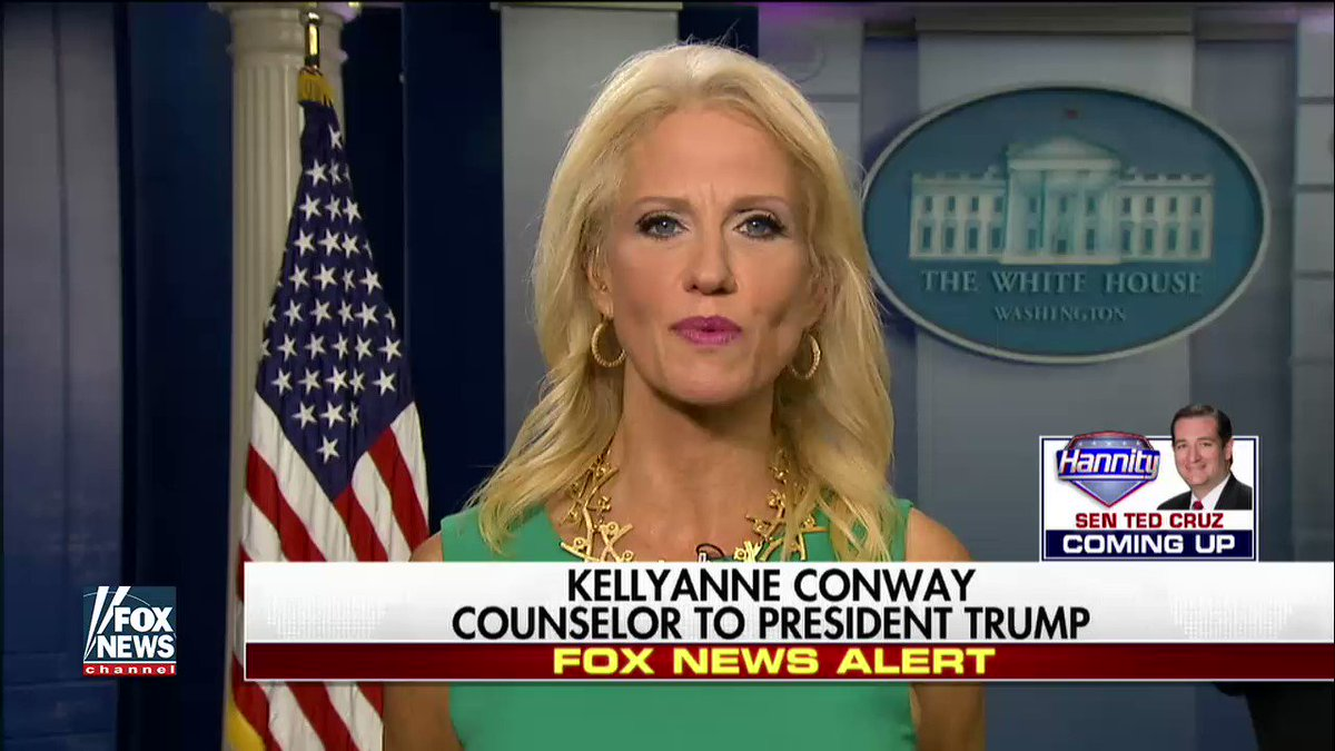 .@KellyannePolls: '@POTUS is set on reforming the tax code and giving relief to middle class families.' #Hannity https://t.co/QOuXqpcC4I