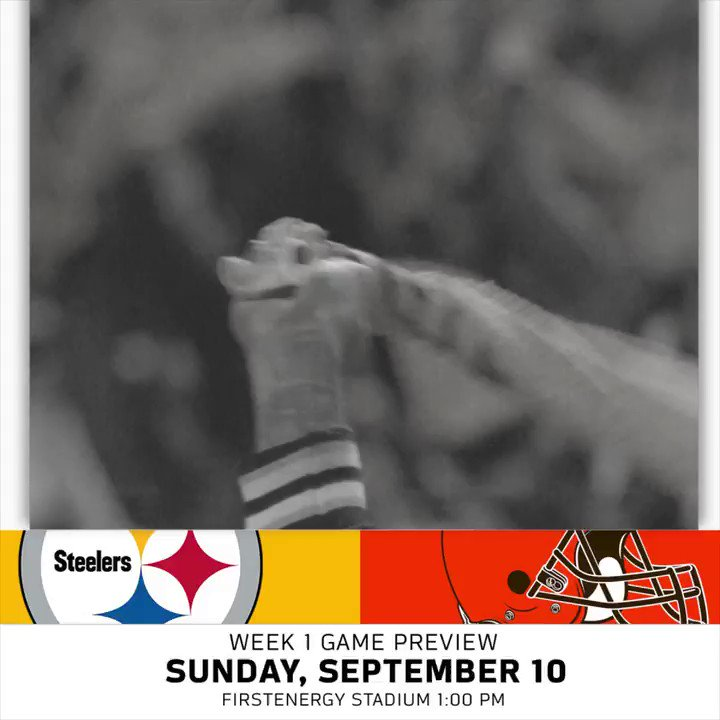 Week 1 in Cleveland. #GamePreview https://t.co/AIad3pw6ec