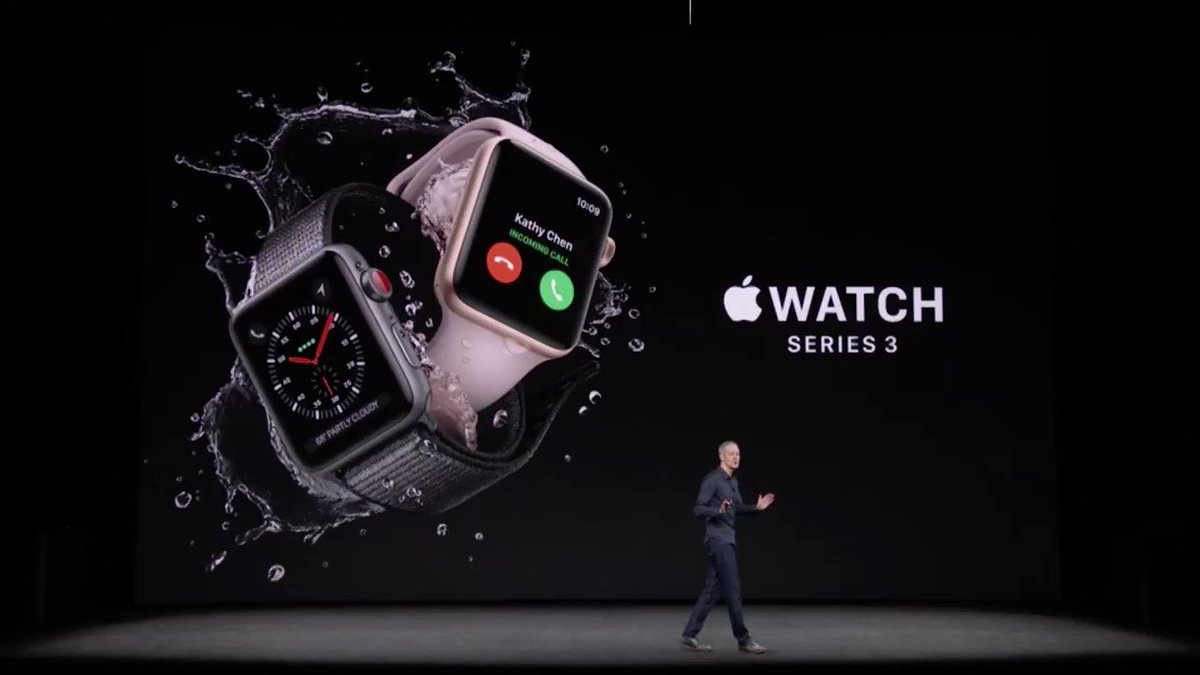 The Apple Watch Series 3 has cellular built in https://t.co/vOxtpAIhOu #AppleEvent https://t.co/yH3lg5cfNj