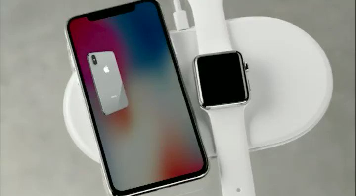 Apple reveals AirPower wireless charging pad coming in 2018  https://t.co/pYRG9EN6sJ #AppleEvent https://t.co/ATZ735Qhfq