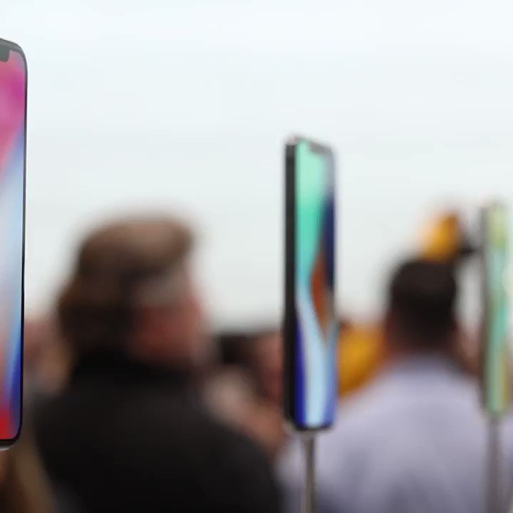 Hands on with the iPhone X https://t.co/Oh8MFFesOo #Apple Event https://t.co/9hVQLZpSiT