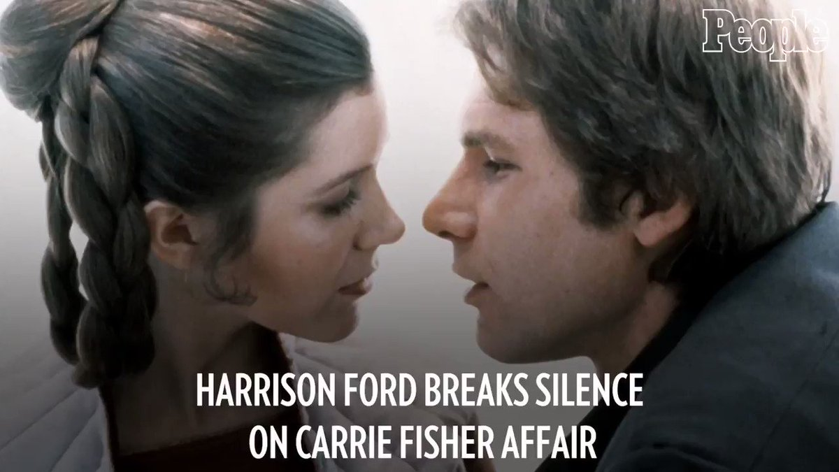 Harrison Ford breaks his silence on Carrie Fisher's memoir detailing their StarWars affair