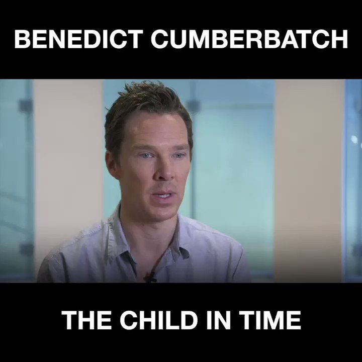 'Of course it upset me.' Benedict Cumberbatch on #TheChildInTime.  More from Benedict here: https://t.co/ZeACk4wYOI https://t.co/G3RVWNytRJ