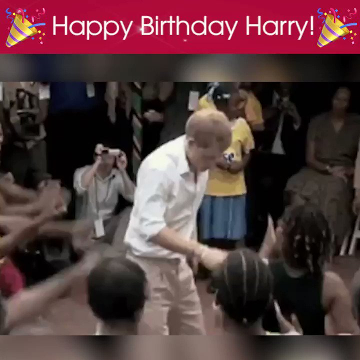 Happy birthday to Prince Harry! We hope he busts a move tonight