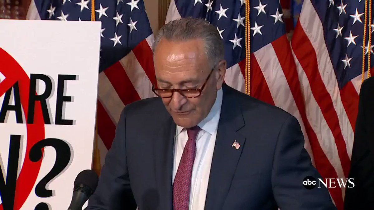 Schumer on Graham-Cassidy health care bill: 'Trumpcare's back and it's meaner than ever.' https://t.co/ETADOFN36u https://t.co/J8qcOK0gJT