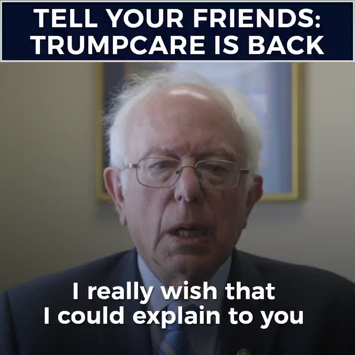 Tell your friends: Trumpcare is back. We need to educate, organize and fight back https://t.co/M38GoPZRzd