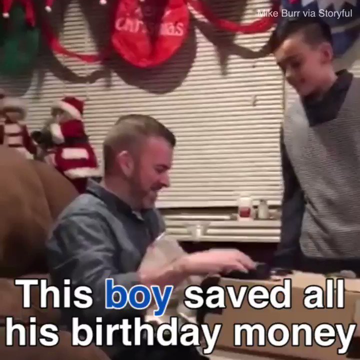 This boy gives his dad the best Christmas present ever! �� https://t.co/rRHbUjba7B